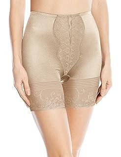 9c12283f3b11a Heavenly Shapewear Women s Mid Waist Boyleg Brief at Amazon Women s ...