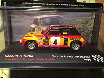 Amazon.com : Renault 5 Turbo / Jean Ragnotti / Andrie Jean-Marc/Tour de France Automobile 1980 : Everything Else