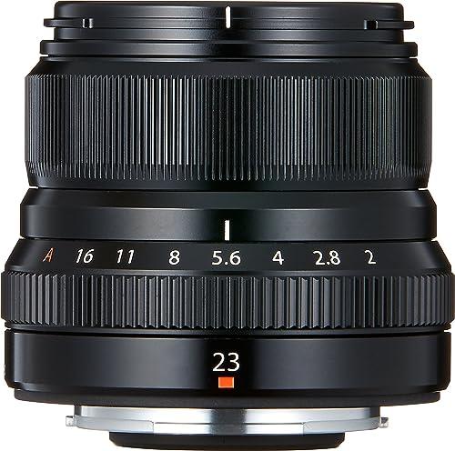 Fujifilm FUJINON XF23 mm F2 R WR Wide Angle Lens - Black