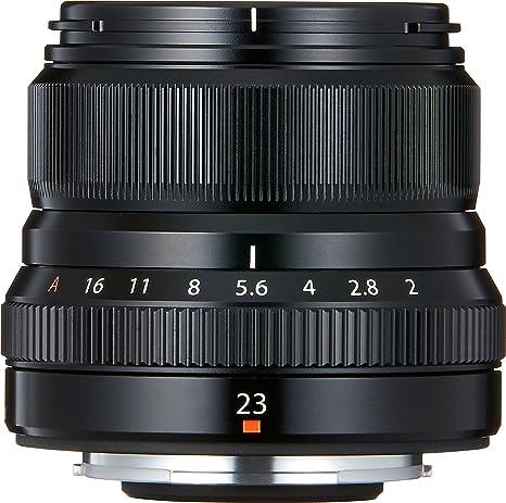 Fujifilm Fujinon XF 23mm F2 R WR Objektiv schwarz