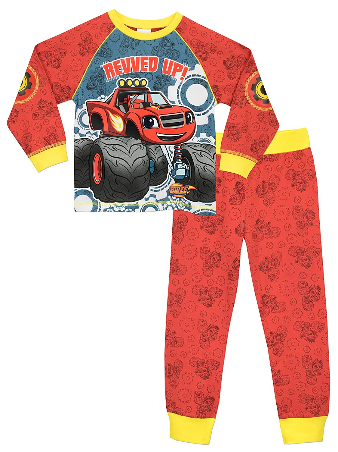 Blaze and the Monster Machines Nickelodeon Blaze & The Monster Machines Boys Pyjamas Ages 18 Months to 7 Years
