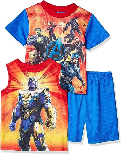 Official Licensed Marvel Avengers Kids Fleece All In One Superhero Pyjamas
