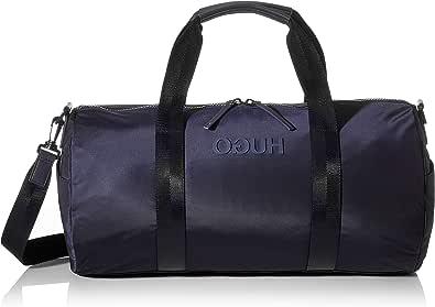 HUGO - Record_holdall Duf, Bolso de mano Hombre, Azul (Navy), 26x26x50 cm (B x H T)