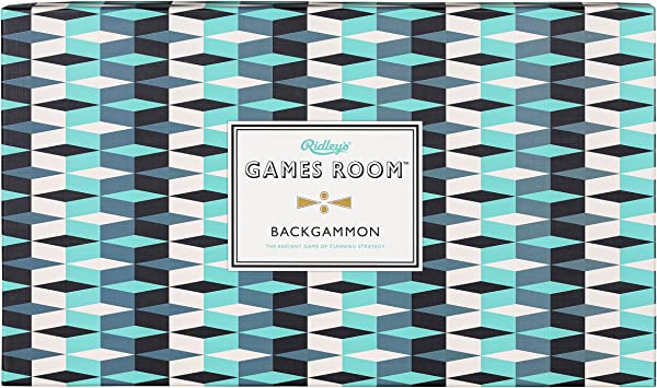 Ridley/'s Backgammon Classic Board Game for Kids and Adults NEW