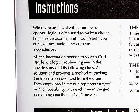 Amazon.com: MindWare Grid Perplexors: Level C: Mindware: Toys & Games