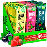 Snacks Variety Pack for Kids Adults - 30 Healthy Fruit Snacks Individual Packs for Kids Adults with Natural Strawberries…