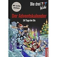 Die drei ??? Kids, Der Adventskalender: 24 Tage im Eis Extra: Stickerbogen