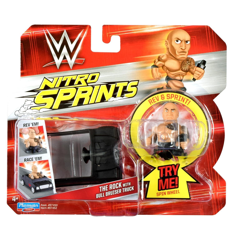 Amazon.com: Teenage Mutant Ninja Turtles WWE Nitro Sprints ...