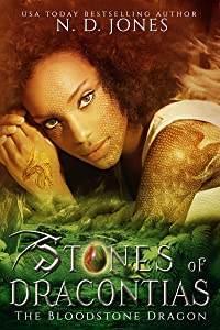 Stones of Dracontias: The Bloodstone Dragon: A Paranormal  Dragon Shifter Romance
