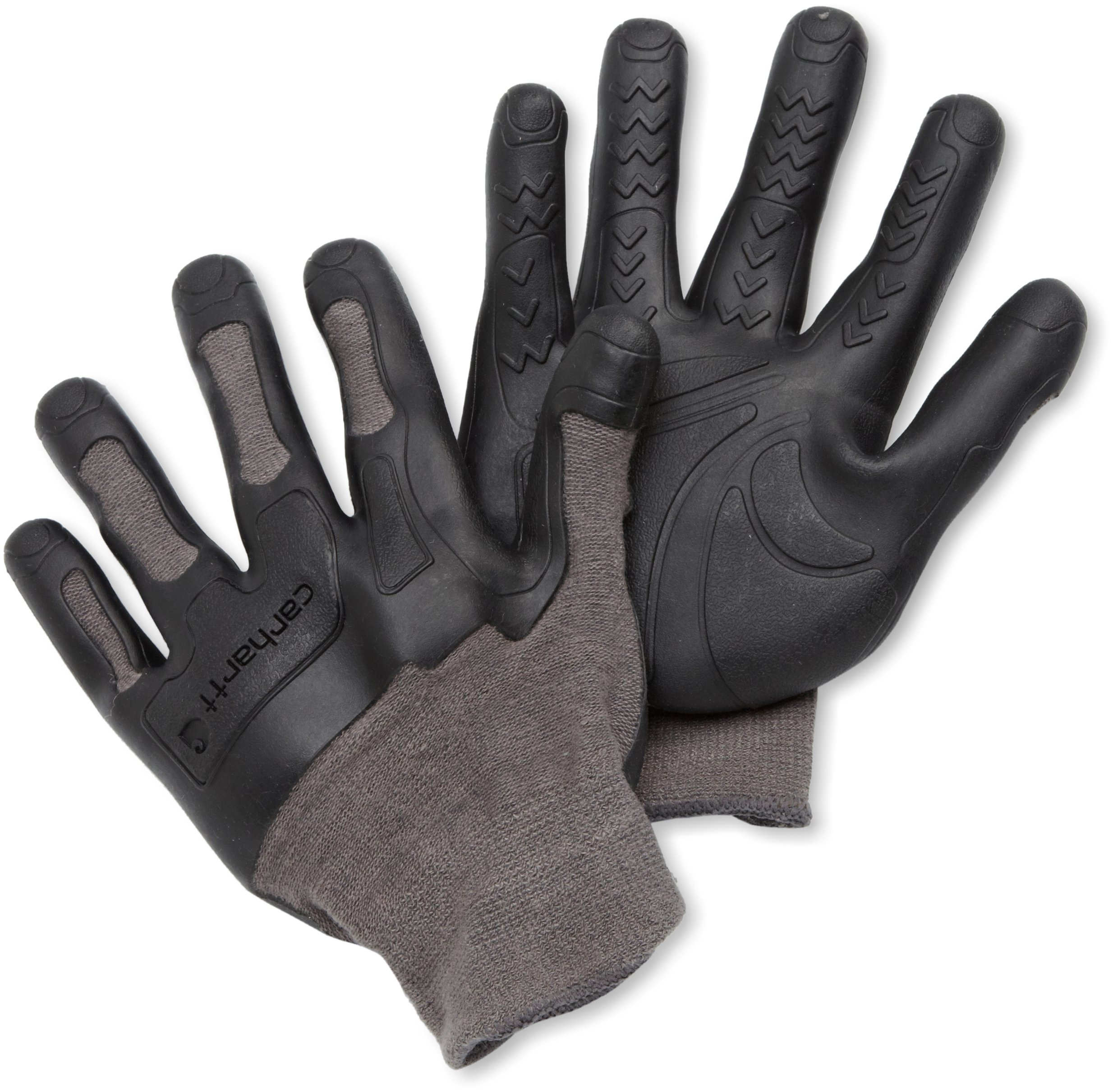 Carhartt Men's Ergo Knuckler Glove, Grey, Large/X-Large