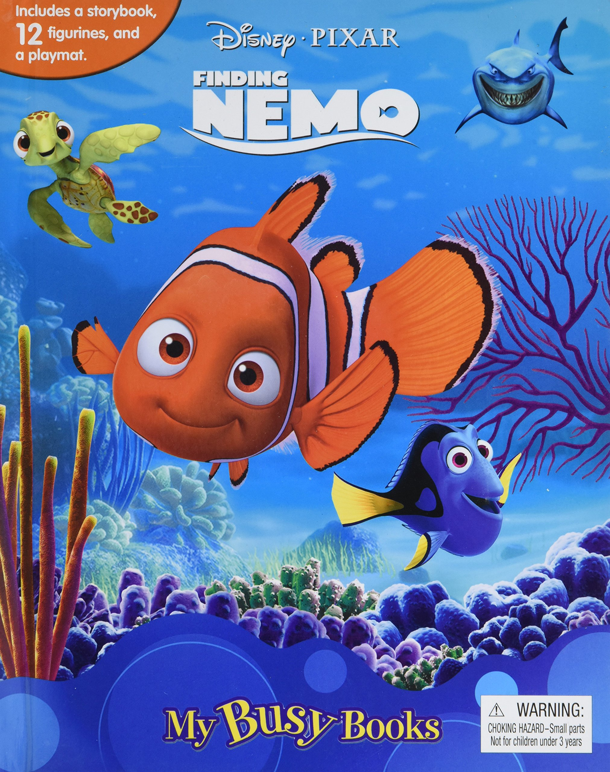70c41157153 Disney/Pixar Finding Nemo My Busy Book: Phidal Publishing Inc ...