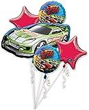 Anagram International Hot Wheels Speed City Bouquet, Multicolor