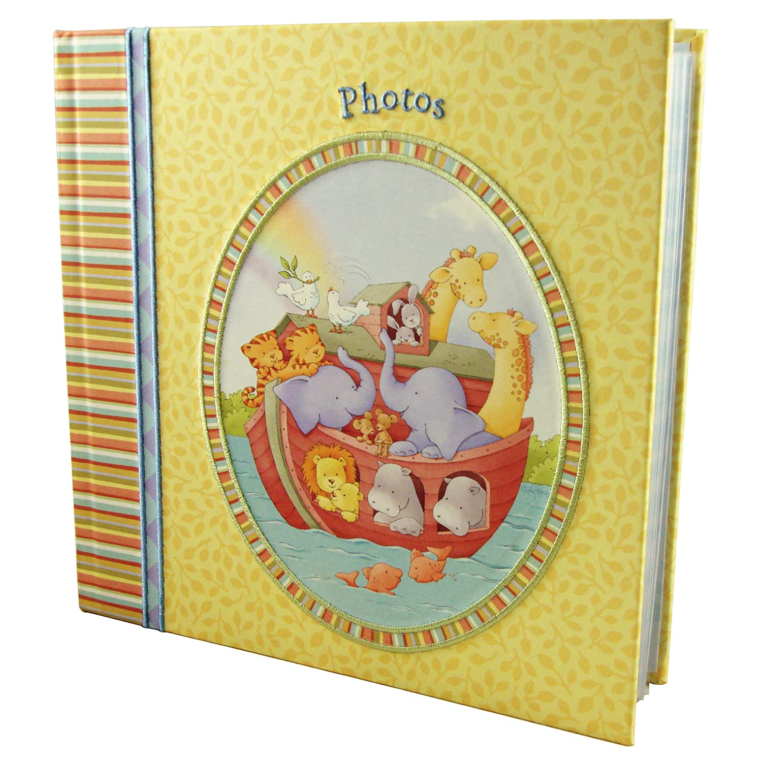 Discontinued by Manufacturer Welcome Home Noah C.R Gibson Bound Photo Journal Album
