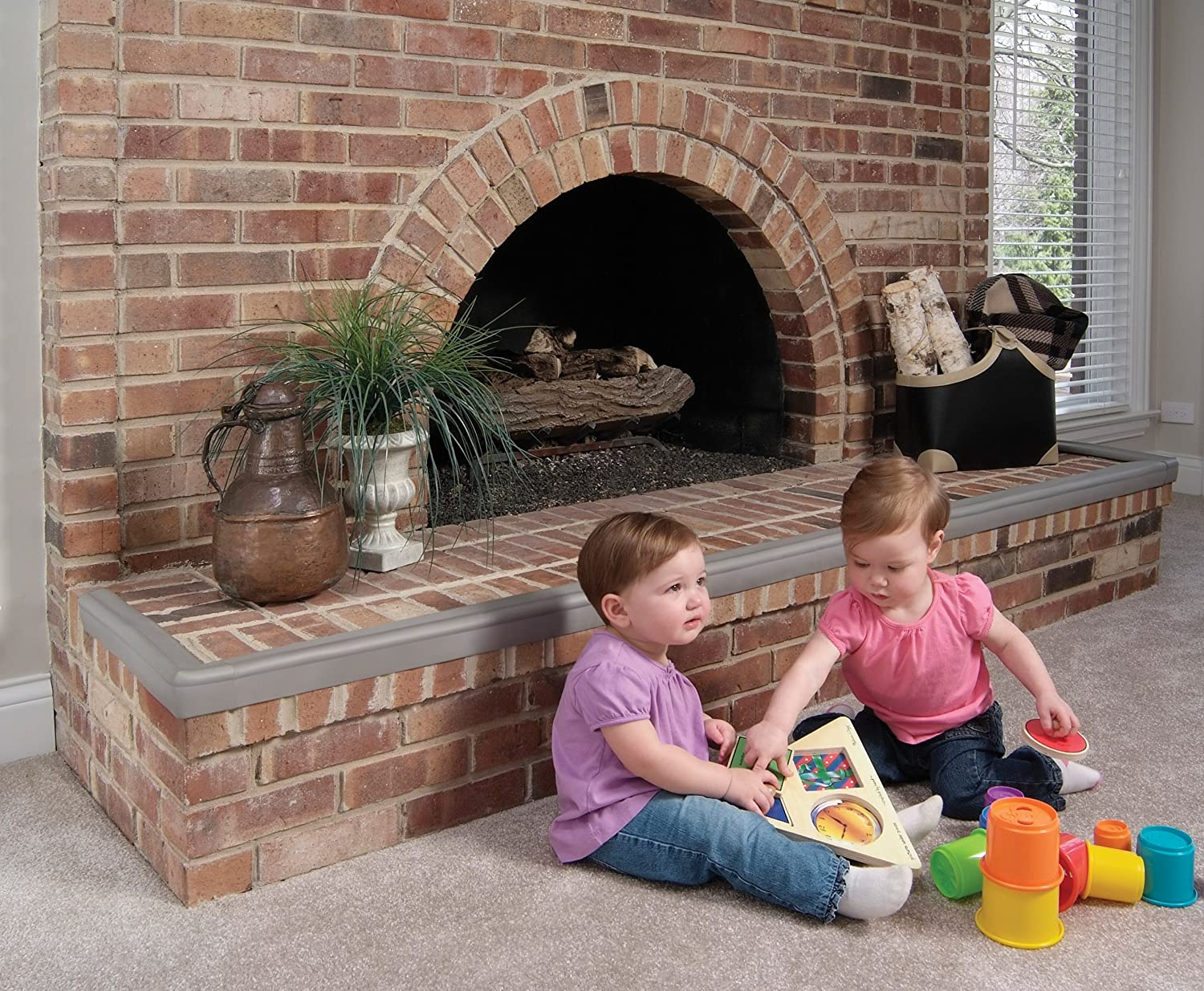 amazon com kidco hearth guard furniture edge safety bumpers baby