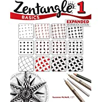 Zentangle Basics, Expanded Workbook Edition: A Creative Art Form Where All You Need is Paper, Pencil, & Pen (Design…