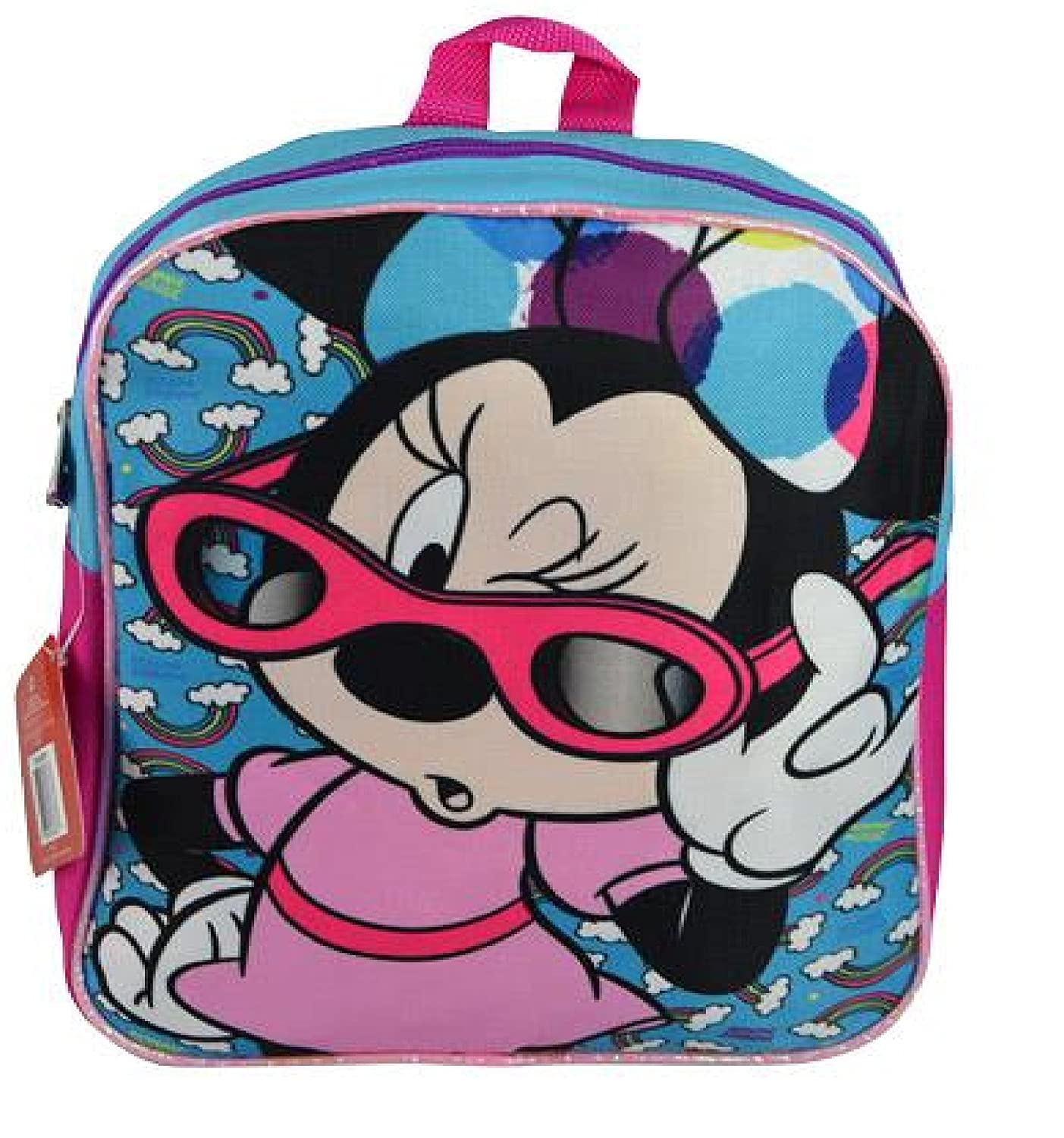 Disney Minnie Mouse 11 Mini Backpack Book Bag One Size Pink