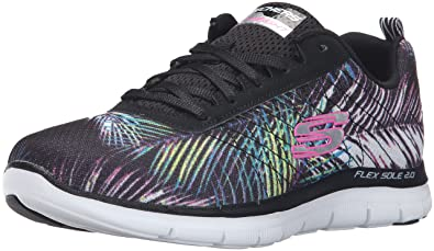 347cdb3a9b73 Skechers Women s Flex Appeal 2.0-Tropical Multisport Outdoor Shoes ...