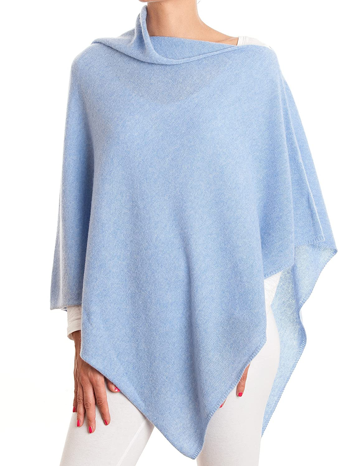 DALLE PIANE CASHMERE Poncho 100% Cashmere - Woman Color: Anthracite One Size Ver070_ANTU