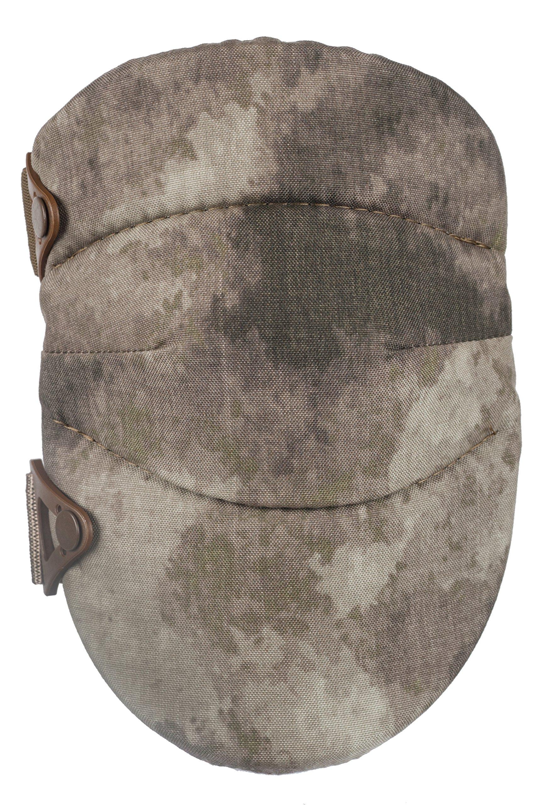 ALTA 50703.18 AltaSOFT Knee Protector Pad, A-TACS AU Cordura Nylon Fabric, AltaLOK Fastening, Capless