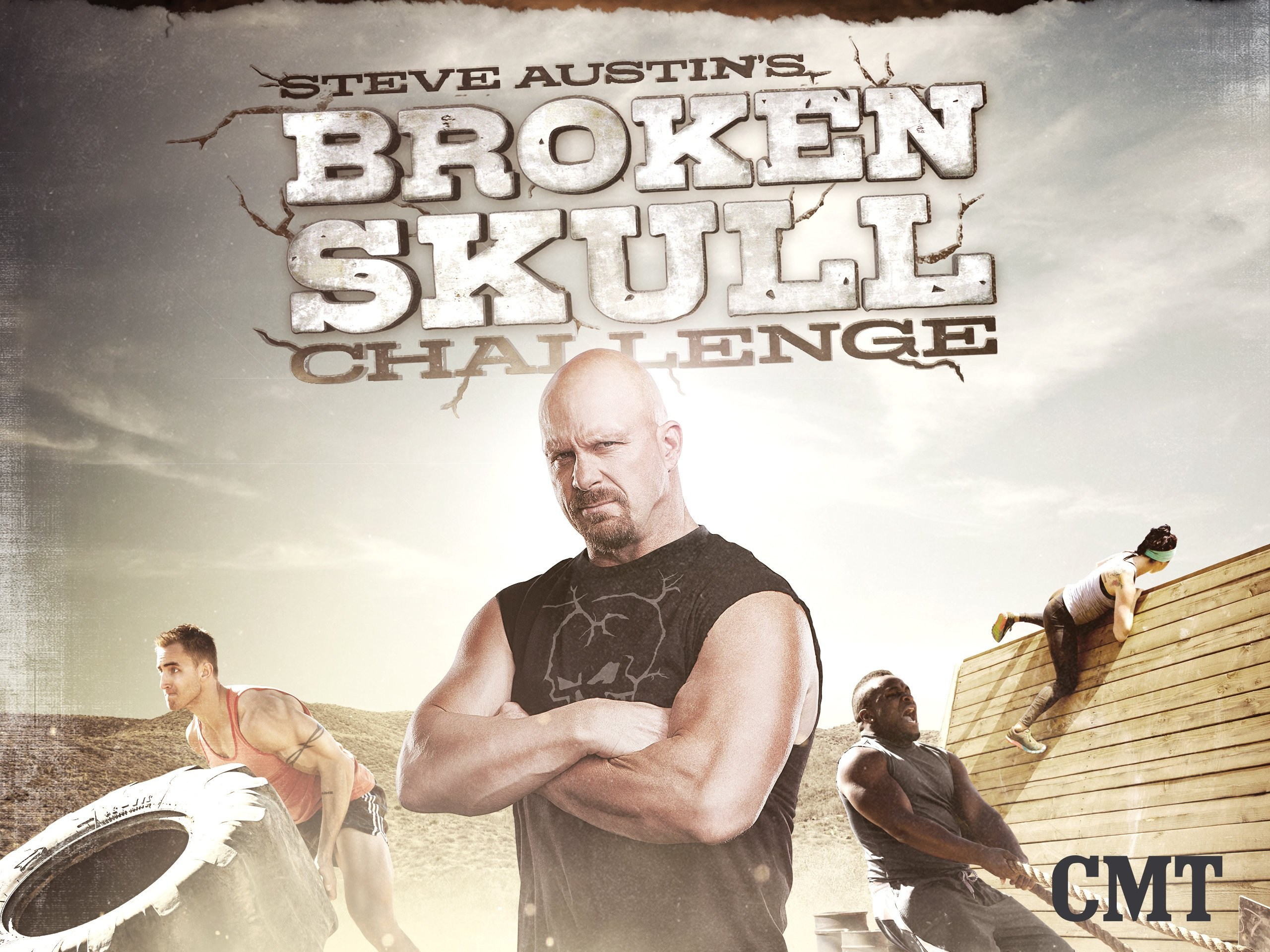 1e28b715aadd Amazon.com  Watch Steve Austin s Broken Skull Challenge