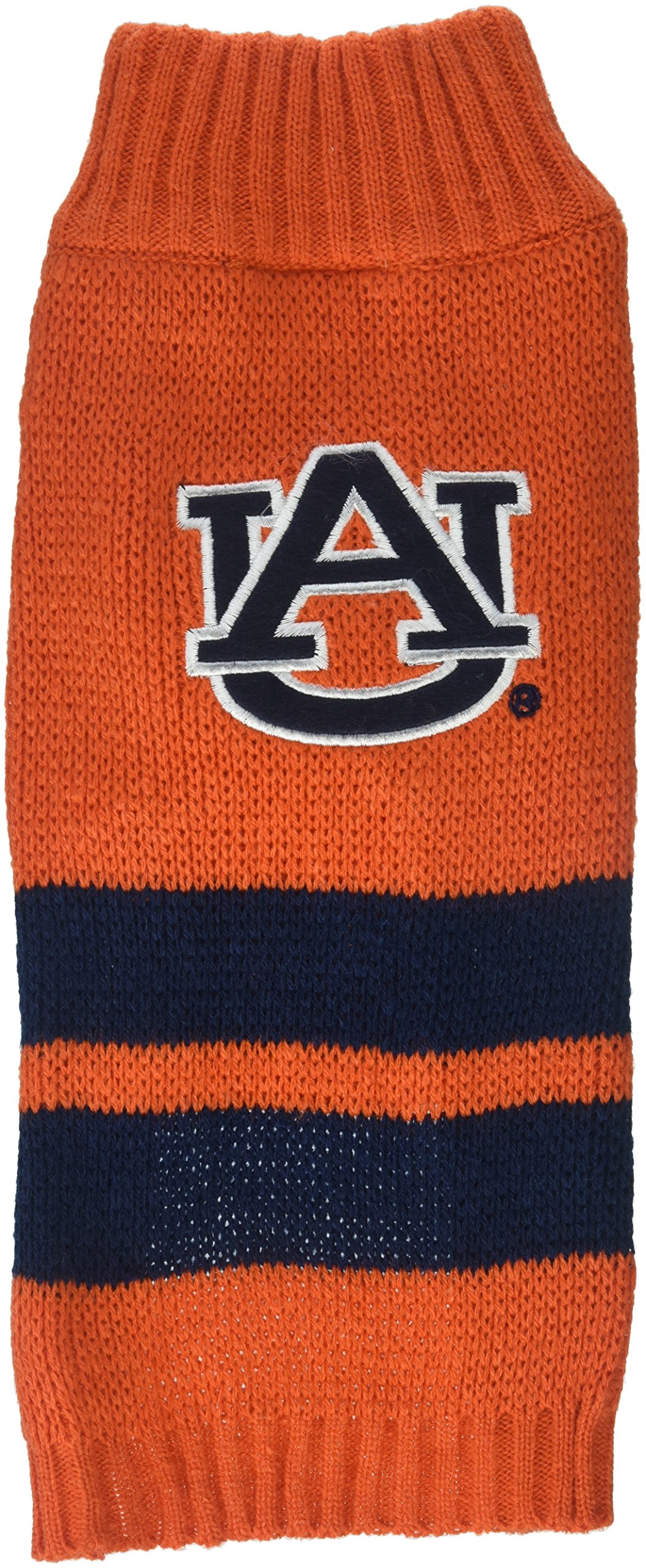 Pets First Collegiate Auburn Tigers Pet Sweater, Small by Pets First