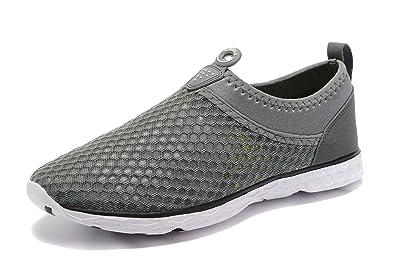 Men's Aqua Water Shoes Lightweight Beach Swim Pool Walking Sneakers