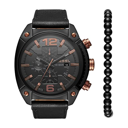 82cc918ef795 Image Unavailable. Image not available for. Colour  Diesel Men s Quartz  Watch ...