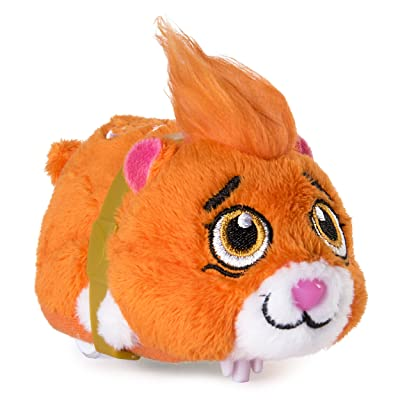 "Zhu Zhu Pets - Mr. Squiggles, Furry 4"" Hamster Toy with Sound and Movement: Toys & Games"