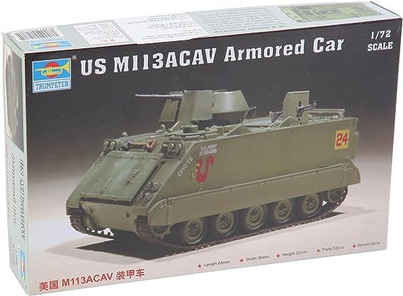 Easy Model 1:72 Scale M113ACAV Vietnam Model Kit