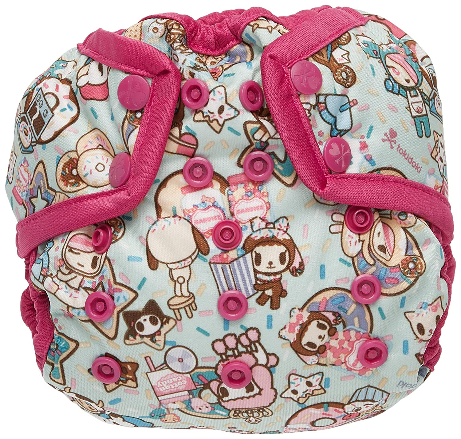 Snap Kanga Care Rumparooz One Size Cloth Diaper Cover Sweet