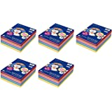 Pacon 9 x 12, 6555 Rainbow Super Value Construction Paper Ream, Assorted, 500 Sheets (5 Pack)