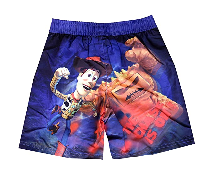 Boys Toy Story Buzz Lightyear REX Woody Mesh Lined Swim Shorts sizes from 3  to 8 Years: Amazon.co.uk: Clothing
