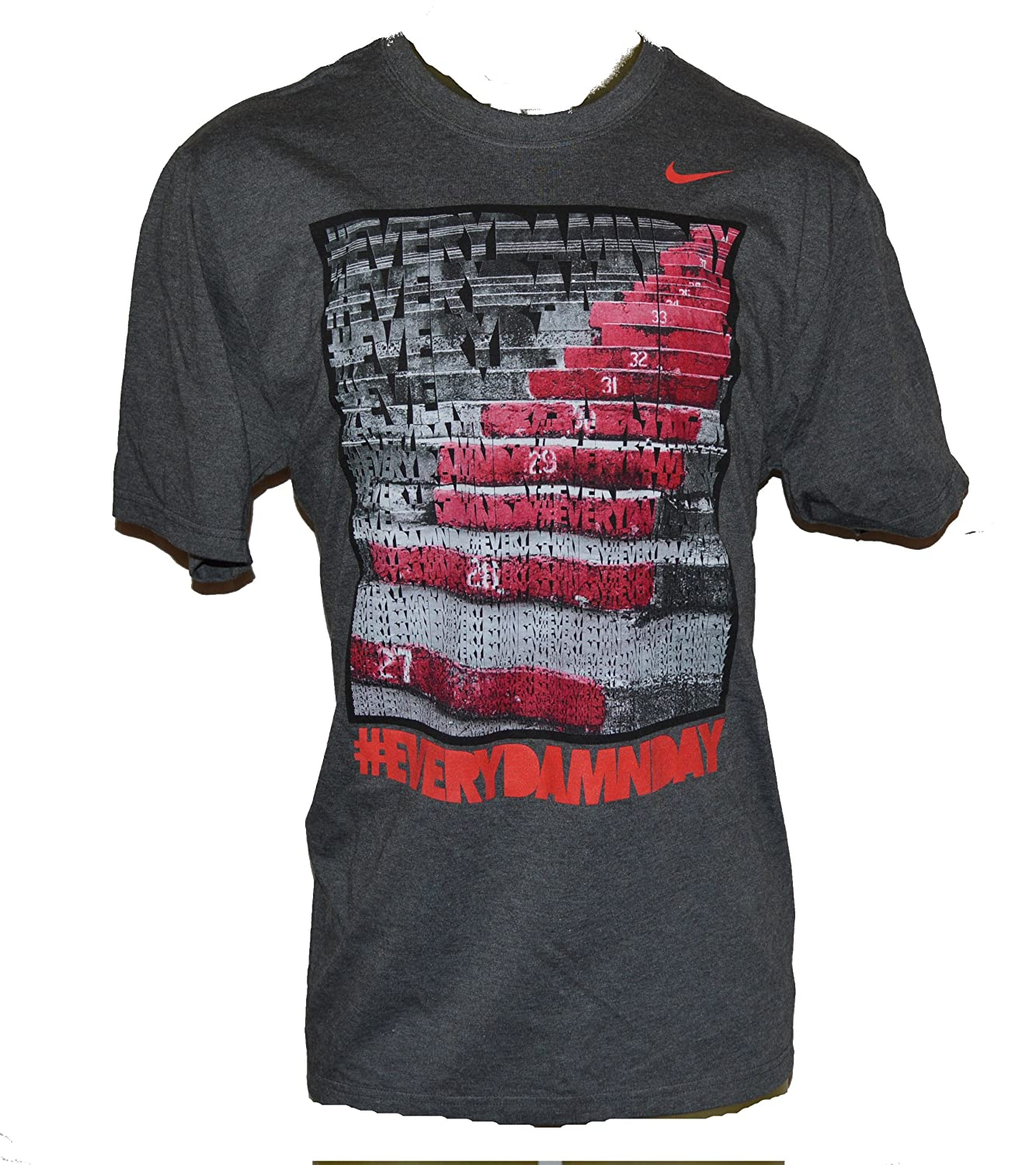 Nike Men's Every Damn Day Day Day Stadium Steps T-Shirt X-Large grau 11ef6a
