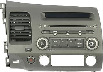 HONDA CIVIC RADIO CD MP3 PLAYER CAR STEREO CODE 2007 2008 2009 2010 2011 2012