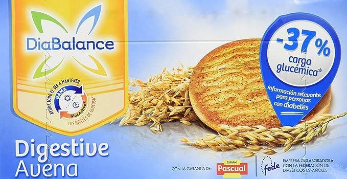 DiaBalance Galleta Digestive - Caja de 6 paquetes con 4 galletas - Total 204 g