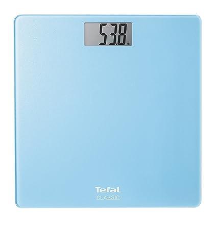 Tefal Classic - Báscula de baño digital, pantalla LCD, peso máximo 160 kg,
