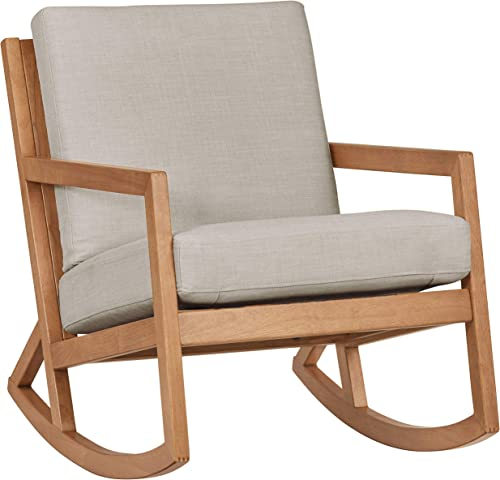 Amazon Brand Stone Beam Modern Hardwood Rocking Chair