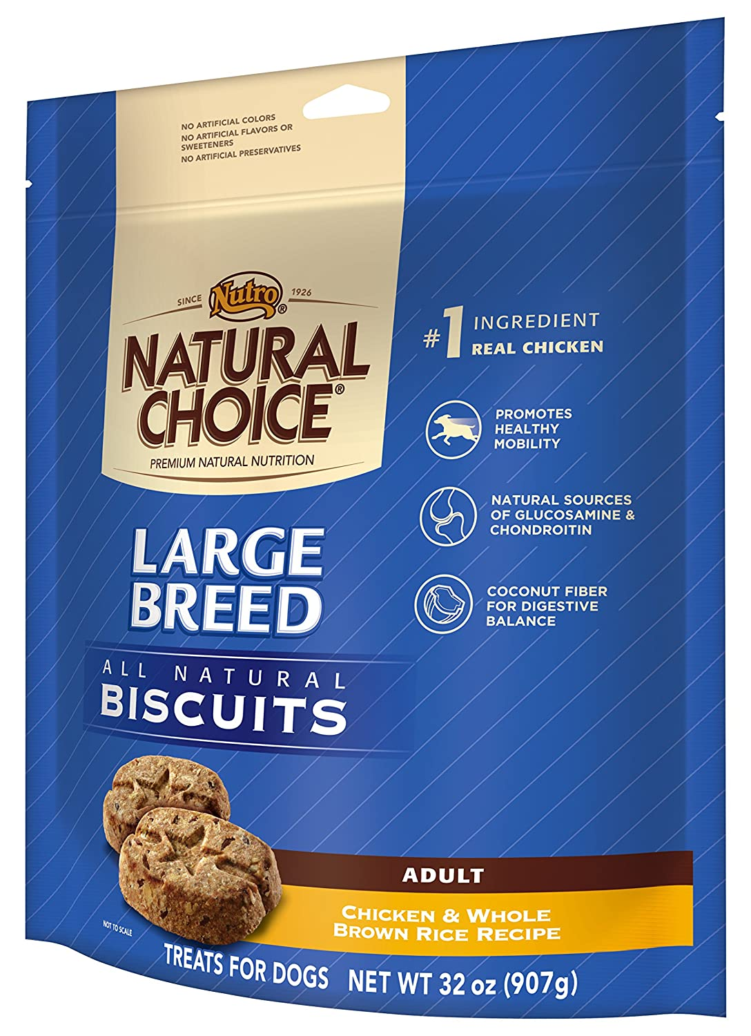 Amazon nutro natural choice large breed adult dog treats amazon nutro natural choice large breed adult dog treats chicken and whole brown rice 32 oz dry pet food pet supplies forumfinder