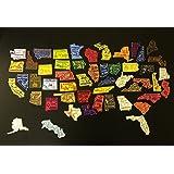 all 50 state magnets fridge magnet