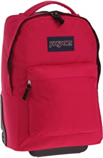 306de1ccac8d Amazon.com  Jansport Driver 8 Rolling Laptop Backpack - Black  Clothing