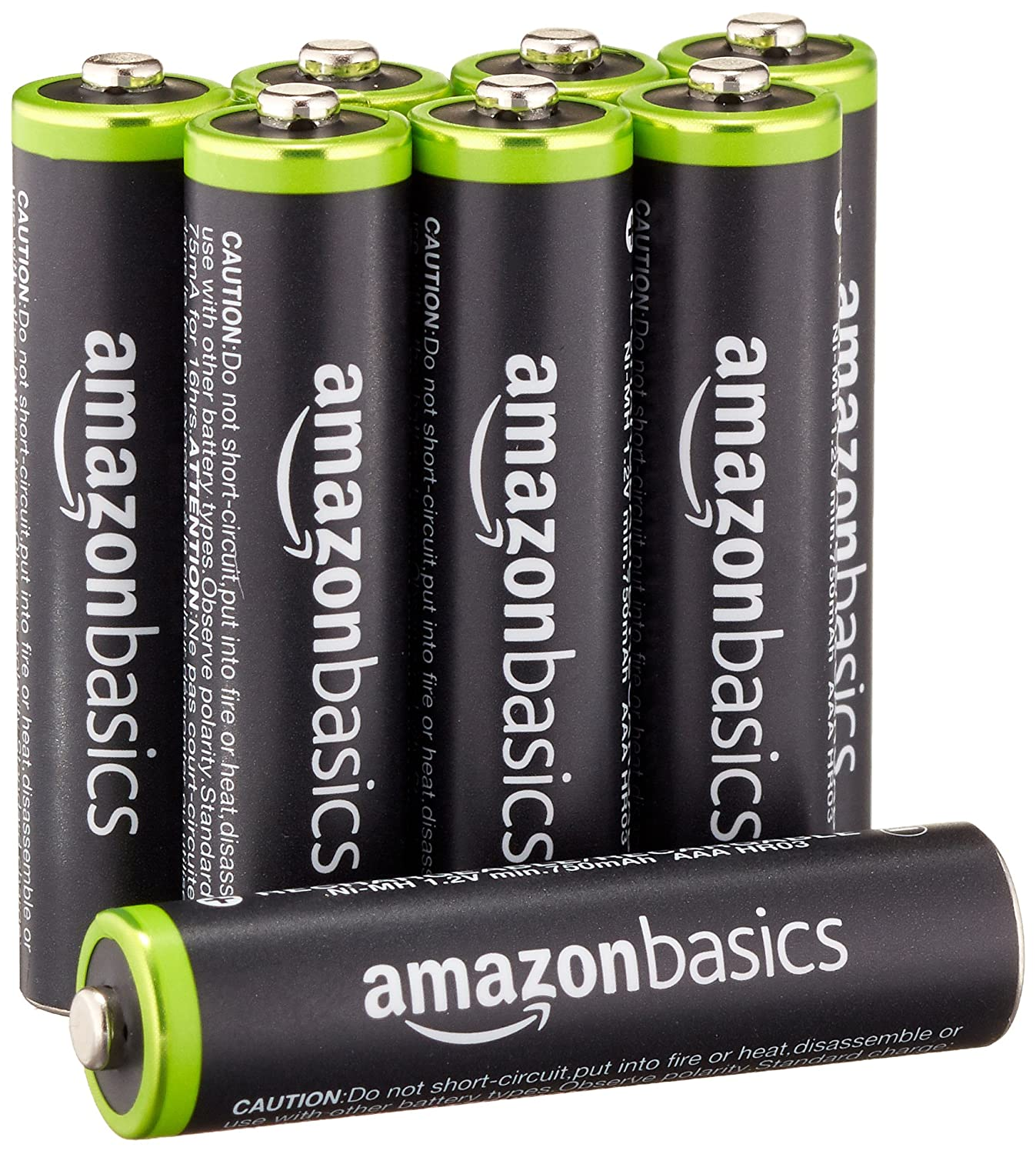 Amazon - 8-Pack AAA 800mAh Rechargeable Batteries - $9.49