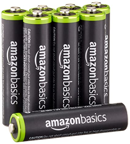 Review AmazonBasics AAA Rechargeable Batteries