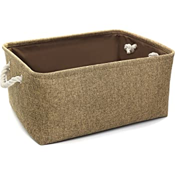 amazon com household essentials 600 small tapered fabric baskets for shelves in bathroom basket bins for shelves