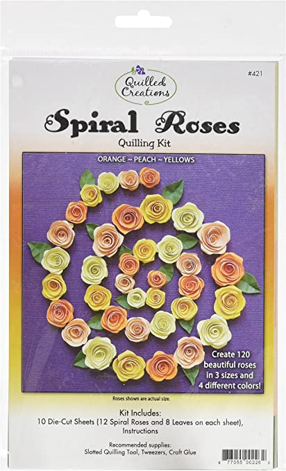 Quilled Creations Quilling Kit Spiral Roses