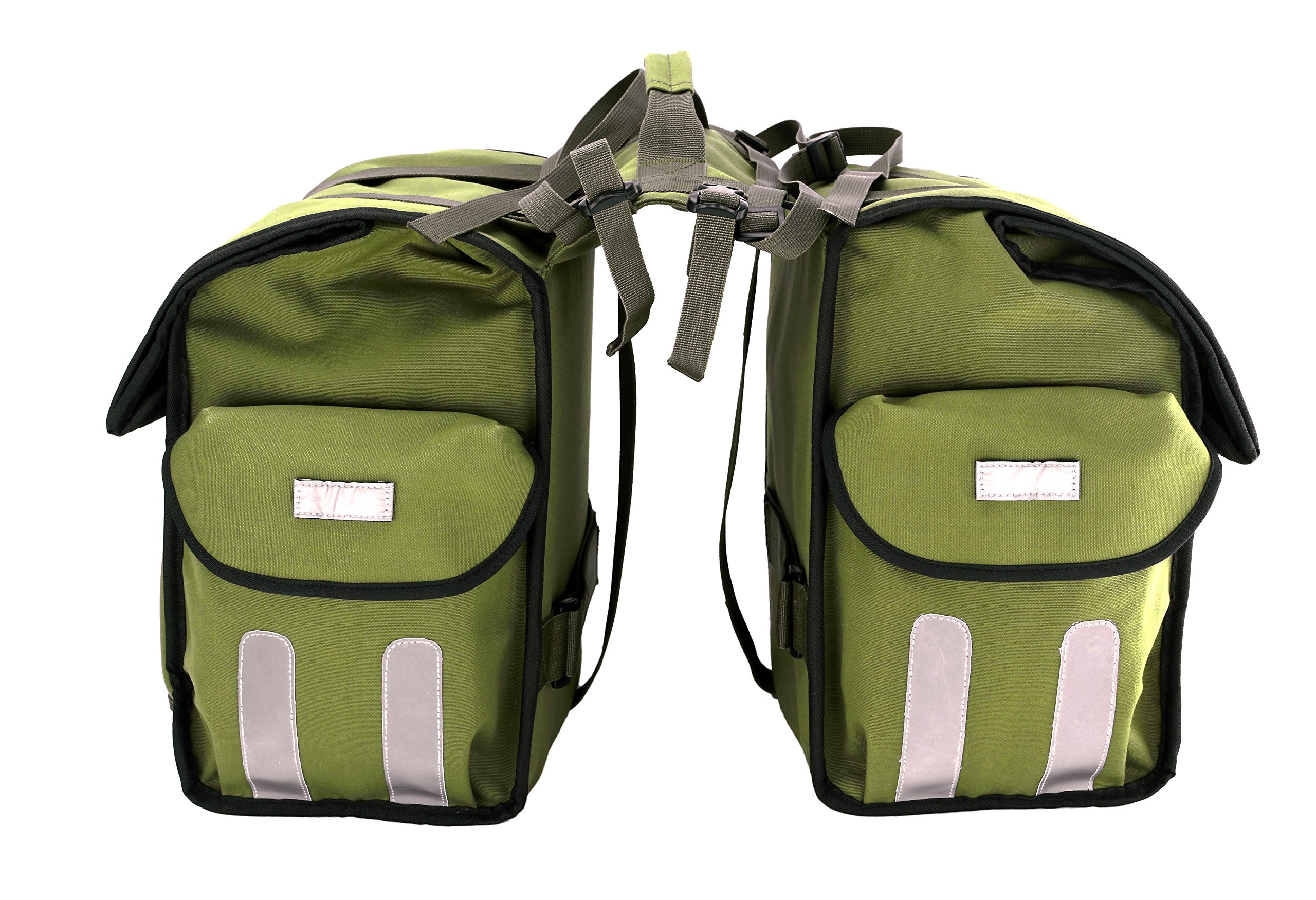 Roswheel 14686 Expedition Series Bike Rear Rack Bag Bicycle Double Panniers Cargo Trunk Bag by Roswheel (Image #3)