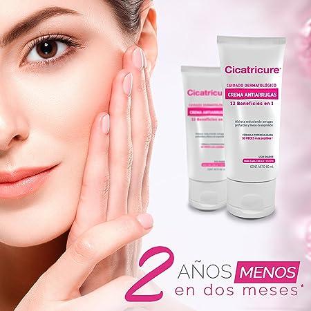 Amazon.com: Cicatricure Cara y Cuello Cuidado Dermatologicico 12 en 1 Crema Rosita: Health & Personal Care