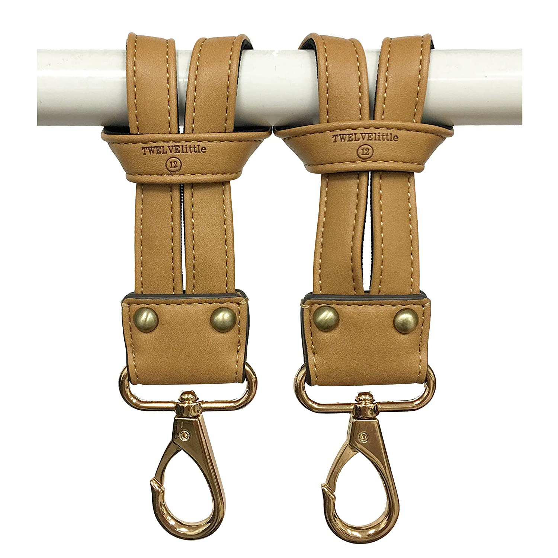 TWELVElittle Stroller Clip Set, Black
