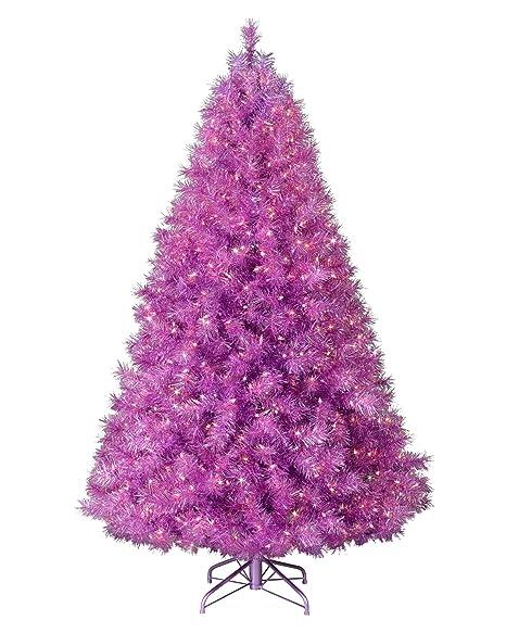 Bravich 6ft 180cm Purple Christmas Tree 500 Tips Pvc Artificial