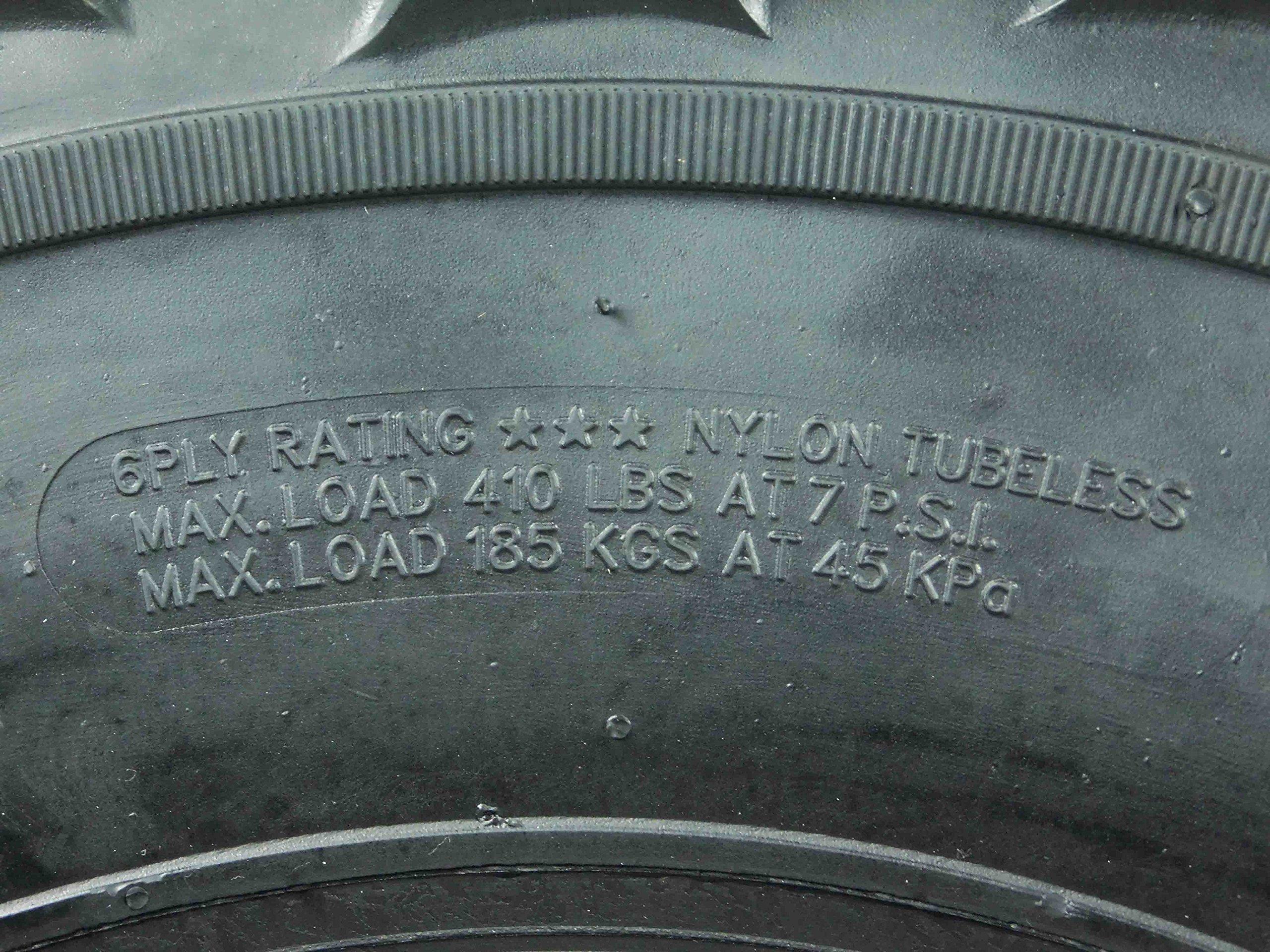 New Single MASSFX MS ATV/UTV Tire 26 x9-12 Front, 26x9x12 26x9/12 by MASSFX (Image #3)