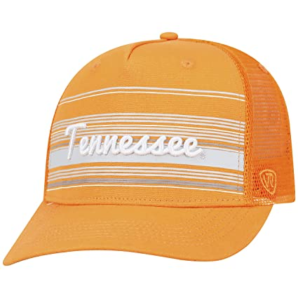 9a77bcb2f20 Image Unavailable. Image not available for. Color  Top of the World  Tennessee Volunteers Official NCAA Adjustable 2Iron Trucker Mesh Hat Cap  388854